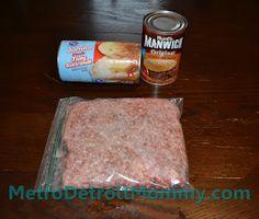 Metro Detroit Mommy: Easy Dinner Idea: Unsloppy Joes