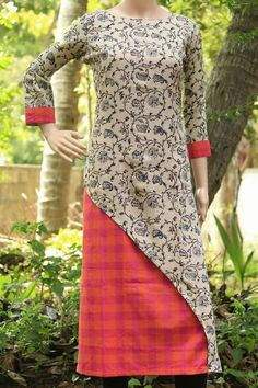 Different Types of Kurti Designs Every Woman Should Know (With Video Tutorial) - ArtsyCraftsyDad Salwar Designs, Kurta Designs Women, Kurti Neck Designs, Dress Neck Designs, Blouse Designs, Salwar Pattern, Kurta Patterns, Dress Patterns, Chudidhar Designs