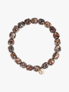 "bracelet titouan gris à médaillon gravé ""b."" | agnès b. Grave, Charmed, Bracelets, Jewelry, Jewlery, Jewerly, Schmuck, Jewels, Jewelery"