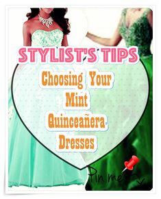 Mint Quinceanera dress shopping is usually one of the best and worst portions of event preparation. To keep your sanity under control, take a look at our tips, which includes style, size. Sweet Sixteen Dresses, Sweet 16 Dresses, Mint Quinceanera Dresses, Fantasy Party, Dream Party, Quince Dresses, Bid Day, Dress For You, Ball Gowns