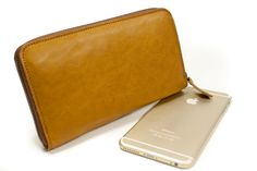 The PERFETC WALLET Iphone 6 Plus Leather Walllet by TuscanLeather