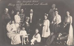 , Grand Duke Friedrich Franz IV. of Mecklenburg-Schwerin (1882-1945) with his wife Alexandra Princess of Hannover (1882-1963) and sons, Prince Max (Maximilian) of Baden (1867-1929) with his wife Marie Luise Princess of Hannover (1879-1948) and children and Princess Olga of Hannover (1884-1958). | eBay!