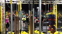 ParkourSa Conquering the ThinAir Ninja Course