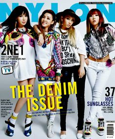 Girl group revealed their cover photo for Nylon magazine. Girl group revealed their cover photo for Nylon magazine. On April U. Nylon magazine revealed photo shoot as well as an update on the group since the release of their second album. Kpop Girl Groups, Kpop Girls, Super Junior T, Moda Kpop, Kpop Mode, Sandara Park, Poses, Kpop Fashion, Celebs