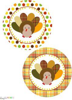27 Free Thanksgiving Printables #free #thanksgiving #printables