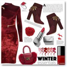 Long sleeve dress by alisijaa on Polyvore featuring Agent Provocateur, Aquazzura, SALAR, Allurez, Burberry, Topshop, Chanel and longsleevedress
