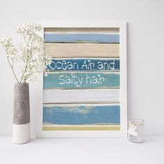 Ocean air and salty hair ocean air salty hair mermaid by islacoast