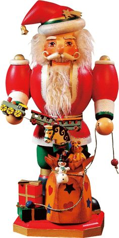 Nutcracker : Father Christmas - I bought this at a Christmas store in Germany