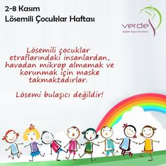 2-8 Kasım Lösemili Çocuklar Haftası... #losemi #LosemiliCocuklarHaftasi #Farkindalik #LosemisizBirDunya #verdesaglik