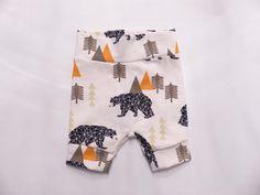 Sets - Camping Geo Bear ∞ Shorts kurze Hose - ein Designerstück von vonJuLa bei DaWanda