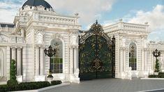 Classical luxurious exterior