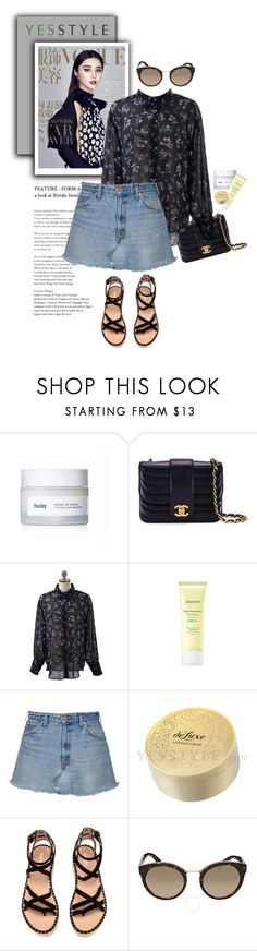 """""""YESSTYLE.com"""" by monmondefou ❤ liked on Polyvore featuring Huxley, Chanel, Chlo.D.Manon, Mamonde and Prada"""