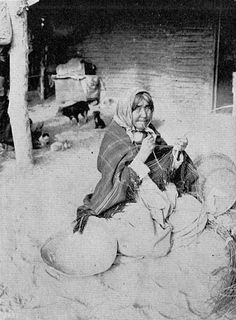 Chemehuevi woman - 1903
