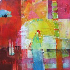 Vania Pentcheva - View-London 7- love these colors.