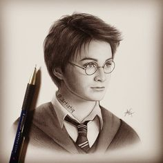 "46.5k Likes, 1,711 Comments - @_artistiq_art on Instagram: ""Pencil drawing of Harry Potter """