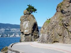 Siwash Rock in Vancouver