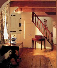 Early American & Colonial Home Decorating & Interiors on Pinterest ...
