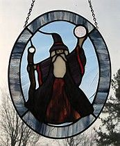 Image result for Wizard Stained Glass