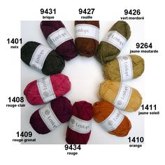 Léttlopi from Ístex: new wool, unpsun, Aran weight « The Icelandic Knitter Opi, Icelandic Sweaters, Knit Sweaters, Shade Card, Space Crafts, Craft Space, Red Garnet, Yarn Colors, Orange