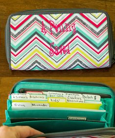Dave Ramsey's Cash System-good idea if I can find a wallet like this!