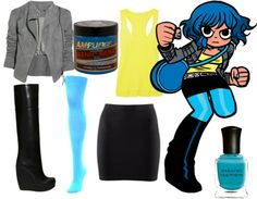 for Ramona Flowers cosplay...*faints