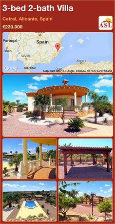 3-bed 2-bath Villa in Catral, Alicante, Spain ►€230,000 #PropertyForSaleInSpain