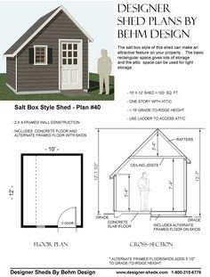 Salt box shed design saltbox garage roof frame saltbox for Salt shed plans