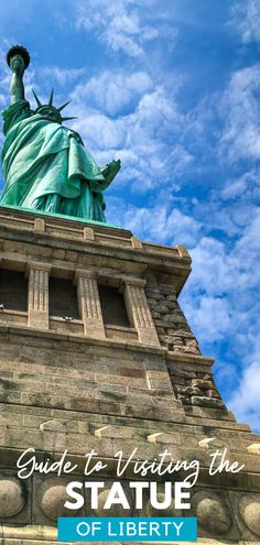 Tips for visiting the Statue of Liberty in NYC, including how and where to get tickets for the pedestal and crown of the statue. Travel Couple, Family Travel, Best Places To Travel, Places To Go, Monument National Park, Travel Tips, Travel Destinations, Nyc With Kids, Travel Magazines