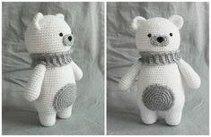 Mesmerizing Crochet an Amigurumi Rabbit Ideas. Lovely Crochet an Amigurumi Rabbit Ideas. Bag Crochet, Crochet Gratis, Crochet Diy, Crochet Patterns Amigurumi, Amigurumi Doll, Crochet Dolls, Crochet Bunny, Crochet Bear Patterns, Crochet Animals