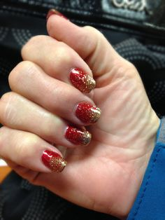 Holiday nails. City Looks Salon and Spa, Cedar Rapids.