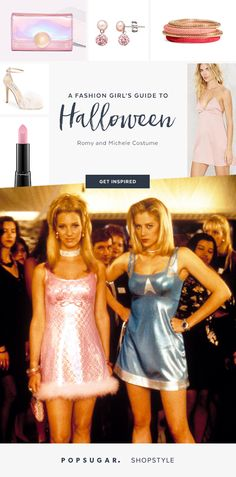 Friends costume Romy and Michele Halloween costume DIY costume ...