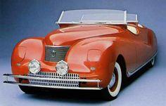 1940 LeBaron Chrysler Newport Dual Cowl Phaeton