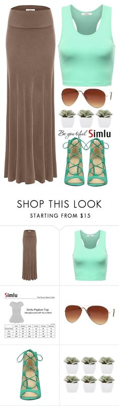 """Be you-Simlu clothing"" by simlu-clothing ❤ liked on Polyvore featuring Nine West, Abigail Ahern, Schone and vintage"