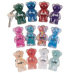 Get fun school supplies including the Jelly Bears™ Key Chain at GEDDES!