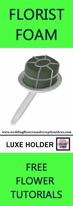 Florist Foam - Floral Supply for Bouquets - Luxe Holder - Super Size Holds larger amount of flowers