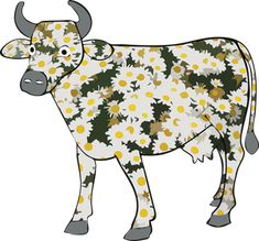 Daisy the cow Cow Clipart, Moose Art, Daisy, Clip Art, Animals, Cows, Animales, Animaux, Margarita Flower