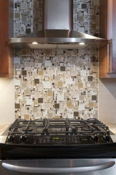 Beautiful Glass Tile Backsplash Pictures Cameo Kitchen Design