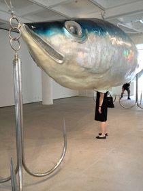 leurre de pêche expo art