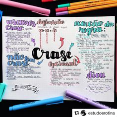 Learning Portuguese for Business Mental Map, Neat Handwriting, I Love School, Learn Portuguese, Study Organization, Bullet Journal School, School Study Tips, Study Hard, Instagram Blog