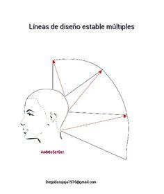 Diagrama de corte de cabello