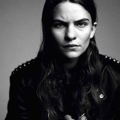 "I really love this intense photo of Eliot Sumner. Though not as much as I'm enjoying listening to her album Information. A friend came over earlier in the week to visit while I had it playing and thought it was Sting. I said, ""No but close it's Sting's daughter Eliot Sumner. The look on her face was priceless."