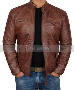 online shopping for Brown Leather Jacket Men - Real Lambskin Distressed Black Leather Jackets Men from top store. See new offer for Brown Leather Jacket Men - Real Lambskin Distressed Black Leather Jackets Men Brown Leather Jacket Men, Distressed Leather Jacket, Leather Jacket Outfits, Lambskin Leather Jacket, Biker Leather, Leather Men, Motorcycle Leather, Black Leather, Motorcycle Jackets
