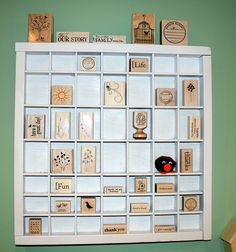 Great idea for storing stamps