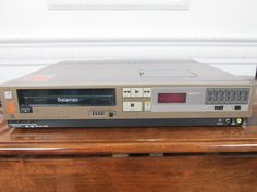 Sony Electronics, Vcr Player, Photo Reference, The Prestige, Technology, Sword, Gadgets, Audio, Hardware