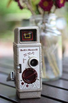 Vintage Bell & Howell Video Camera