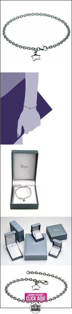 Dew 7C07HP - Pulsera de mujer de plata de ley, 18 cm  ✿ Joyas para mujer - Las mejores ofertas ✿ ▬► Ver oferta: https://comprar.io/goto/B002IF224W