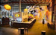 Beer that lives up to the hype! Cool, bright tasting room, too. Check out Modern Times Brewing Co.