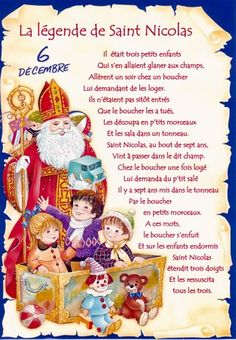 Free printable template for a letter to santa in french fill in the cartonnage passion vive st nicolas french christmaslittle christmasfather christmasfrench spiritdancerdesigns Images