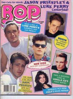 BOP magazine ;)  except on the cover of my  Bop magazine was Ricky Schroeder, John Stamos, Rick Springfield, Menudo, Michael Jackson, Kirk Cameron etc..