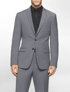 a modern tonal variation on traditional glen plaid in lightweight wool with ultra slim styling. can be worn with x fit ultra slim fit tonal plaid suit pants. Plaid Suit, Wool Suit, Suit Fashion, Mens Fashion, Men Formal, Groom Outfit, Versace Men, Suit Separates, Mens Sale